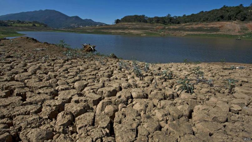 Crise da água em São Paulo desperta discussões sobre abastecimento, consumo e clima. Foto: AFP