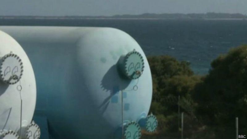 Grande parte do suprimento de água de Perth vem de plantas de dessalinização. Foto: BBC