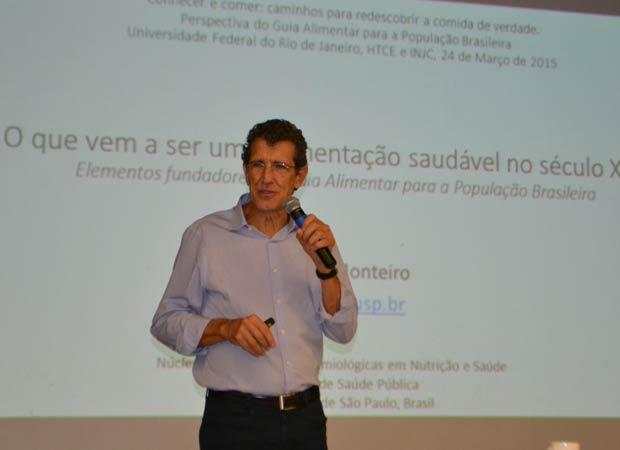 Prof Carlos Augusto Monteiro. Foto: Divulgação