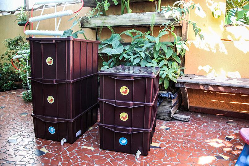 Duas mil composteiras pouparão 300 toneladas de resíduos nos aterros (FOTO: André Jorge Oliveira/Ed. Globo)