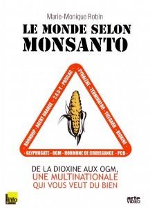 """Capa do DVD do filme """"O mundo segundo a Monsanto"""""""