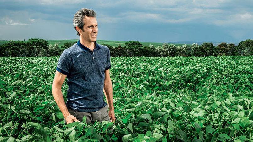 Pedro Paulo Diniz na Fazenda da Toca Foto: Exame