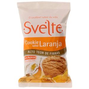 O rótulo diz que o cookie tem alto teor de fibras. Mas ele contém só 1,8g do nutriente por porção. Para usar tal declaração deveria ter pelo menos 5 g.